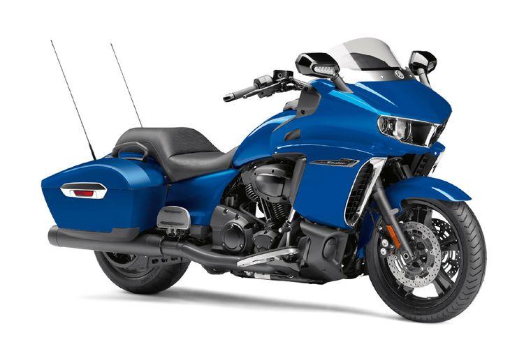 Yamaha Star Eluder meluncur untuk pasar Amerika Serikat.