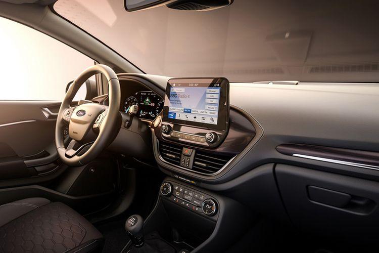 Interior Ford Fiesta terbaru.