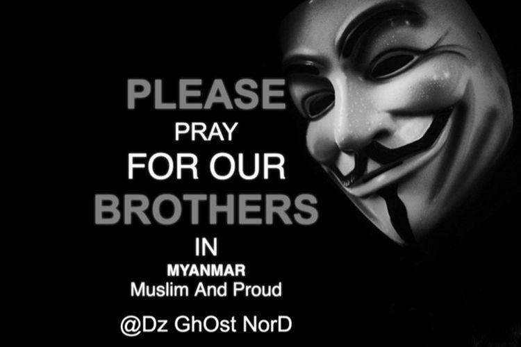 Akses ke laman lembaga itu telah diganti dengan sebuah pesan yang berbunyi, Mari berdoa untuk saudara-saudara kita di Myanmar.