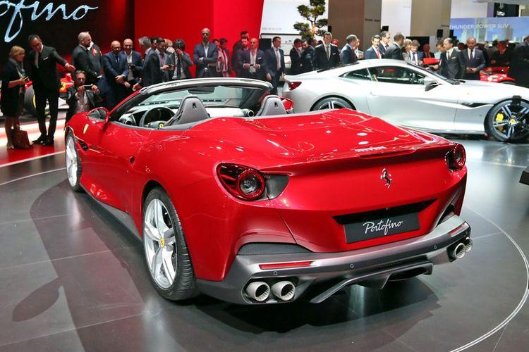 Ferrari Portofino mendapat banyak pengurangan bobot ketimbang California T.