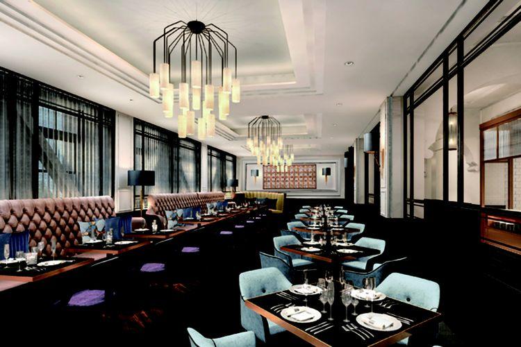 Lantai 2 merupakan restoran dengan suasana lebih kasual di mana pengunjung dari terdiri dari turis asing maupun lokal berbaur bersama.