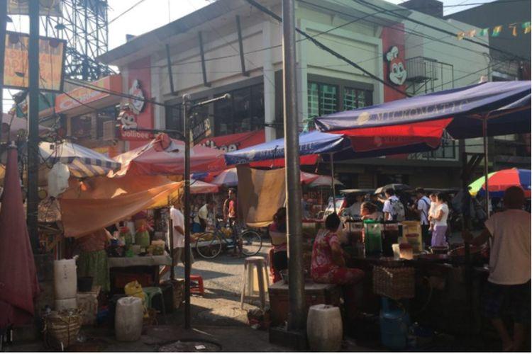 Salah satu sudut Kota Manila, Filipina