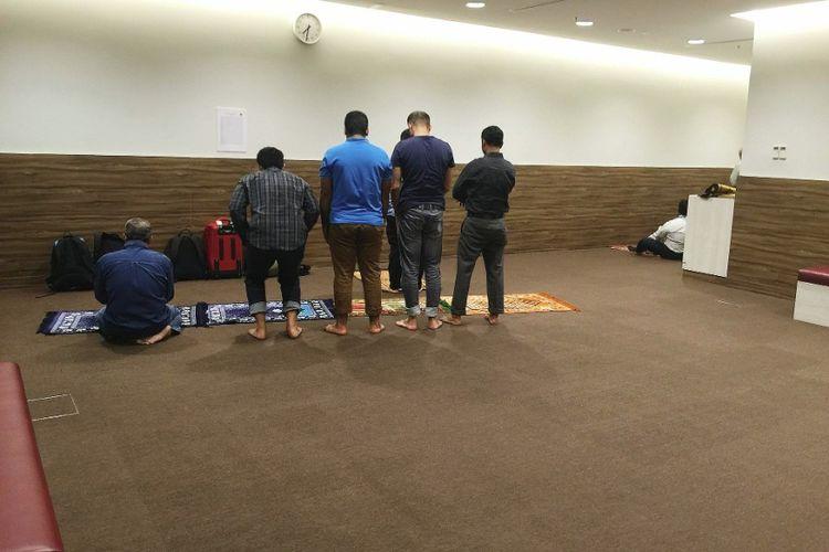 Area musollah di Terminal 1, Singapura