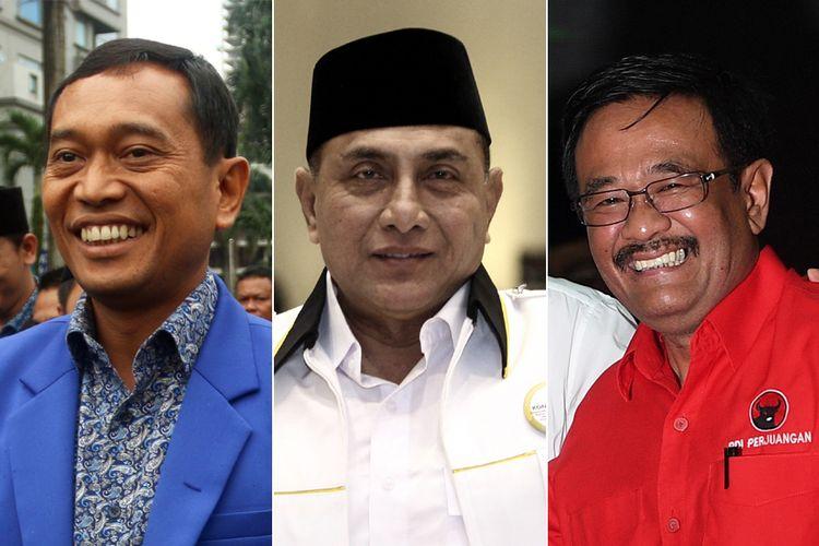 (Ki-Ka) JR Saragih, Edy Rahmayadi, Djarot Syaiful Hidayat