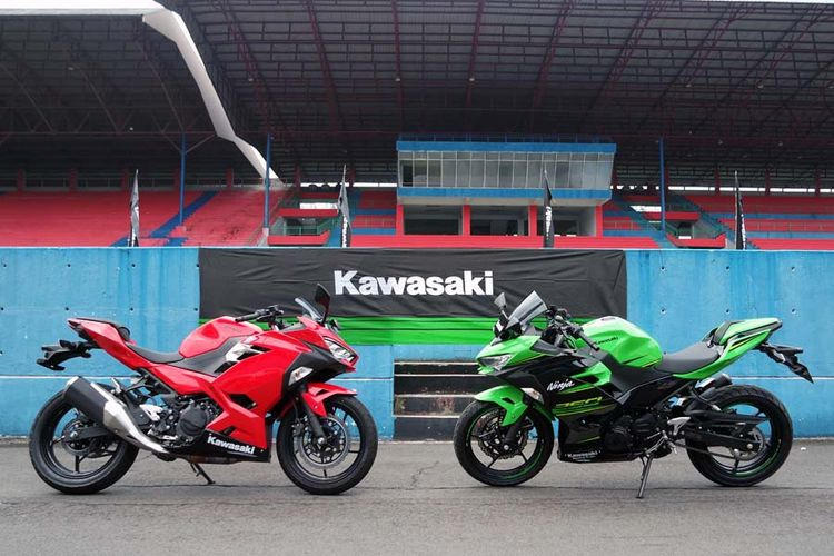 Kawasaki All-New Ninja 250.