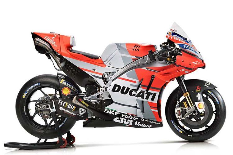Seragam baru tim Ducati MotoGP 2018.