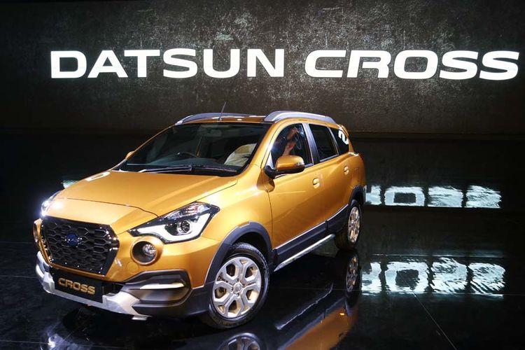 Datsun Cross resmi diperkenalkan untuk dunia, di Jakarta, Kamis (18/1/2018).