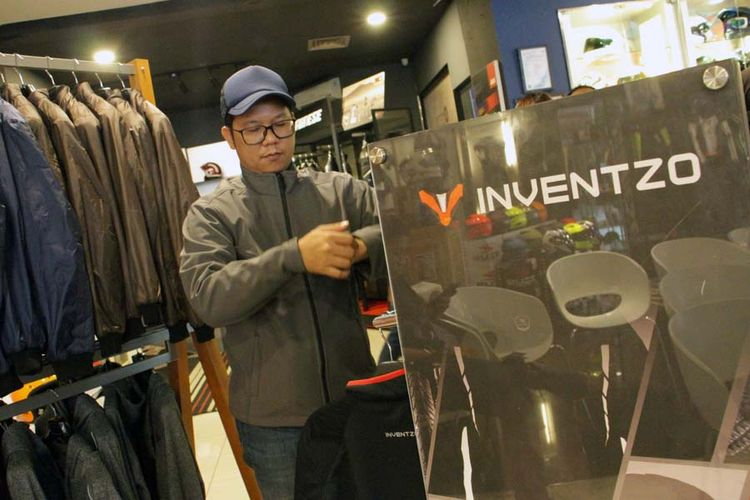 Merek apparel lokal baru asal Bandung, Inventzo.