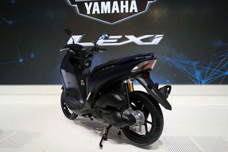 Yamaha Lexi 125 meluncur di Jakarta, Jumat (26/1/2018).