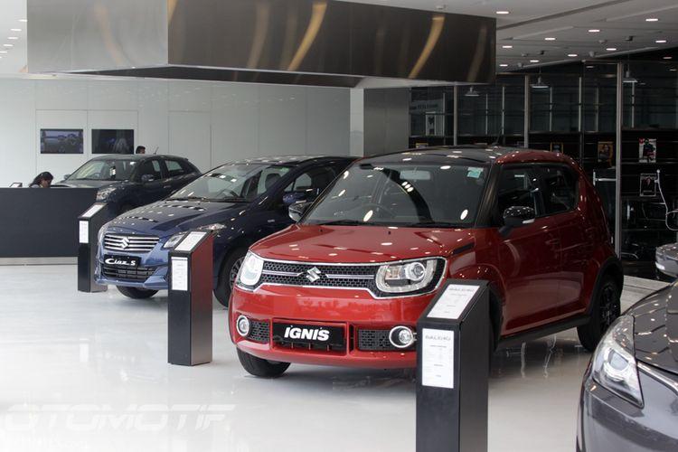 Ignis, walaupun harganya lebih murah dari Vitara Brezza ataupun Ertiga, dijual di diler premium Suzuki Nexa di India.