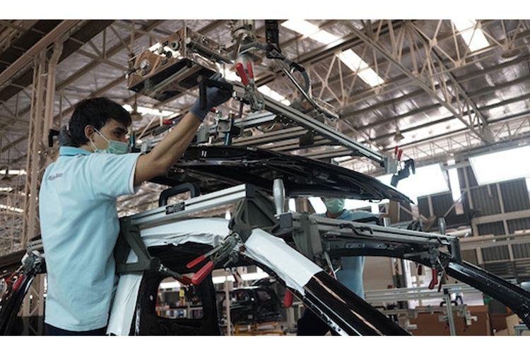 Pabrik Mercedes-Benz di Wanaherang