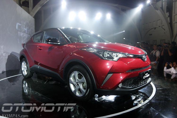 Toyota C-HR 1.8L meluncur di Indonesia, Selasa (10/4/2018).
