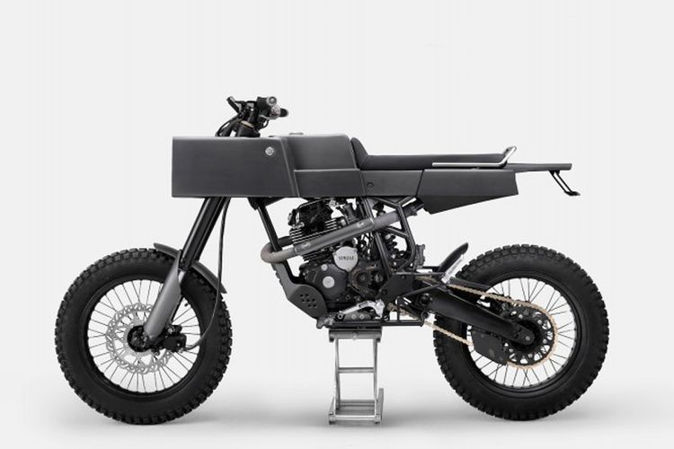 T-005 Cross karya bengkel asal Jakarta, Thrive Motorcycle, bakal mejeng setahun (April 2018 - April 2019) di The Petersen Automotive Museum, Los Angeles, California, Amerika Serikat.
