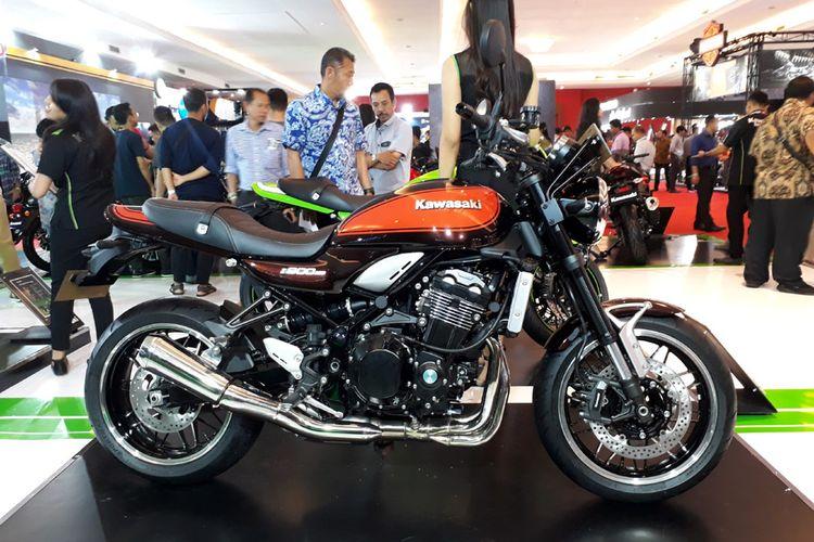 Kawasaki Z900RS di IIMS 2018.