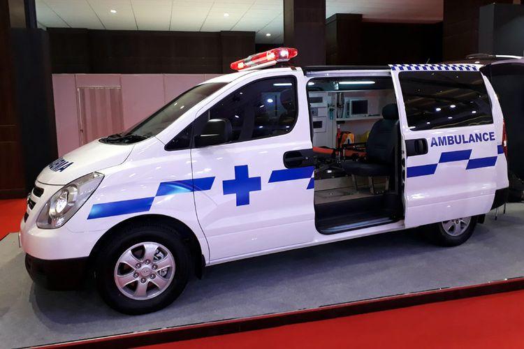 Hyundai Starex Mover Ambulan di IIMS 2018.