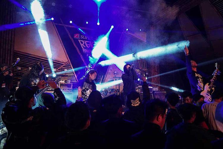 Burgerkill tampil total di final Rockadventure 2018 di Sukabumi