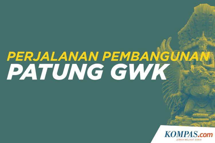 Perjalanan pembangunan Patung GWK