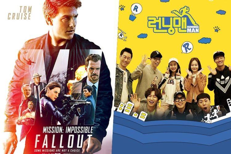 Para bintang film Mission: Impossible - Fallout dikabarkan akan menjadi bintang tamu program televisi yang sangat populer Running Man.