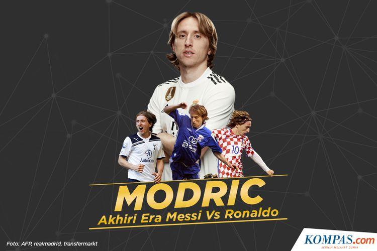 Modric Akhiri Era Mess Vs Ronaldo