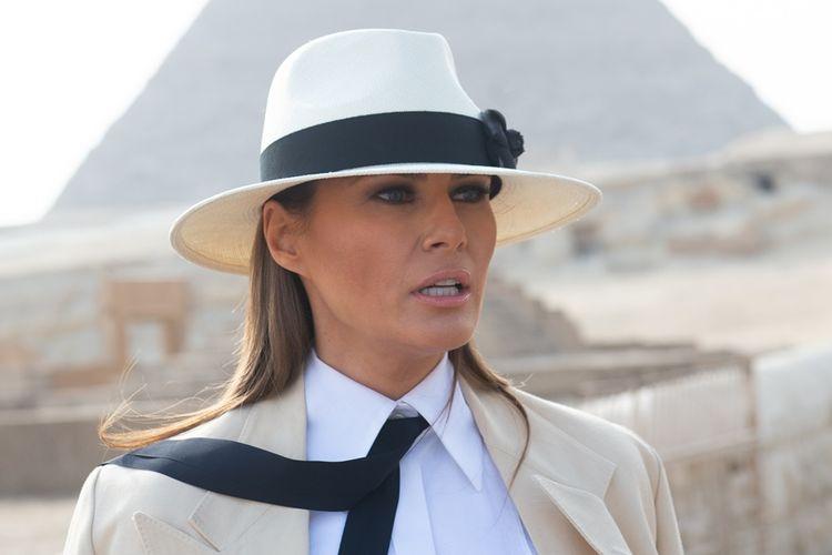 Ibu Negara Amerika Serikat, Melania Trump.