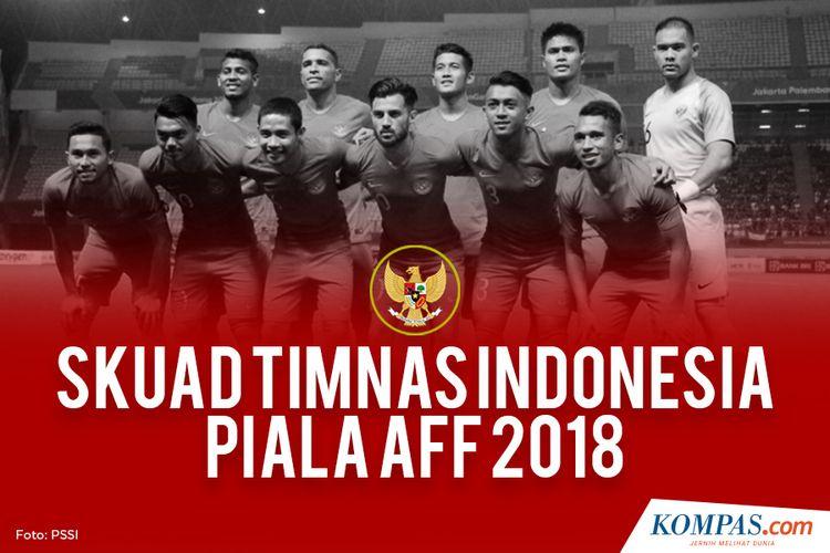 SKUAD TIMNAS INDONESIA PIALA AFF 2018