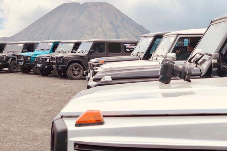 long touring pecinta Mercedes-Benz G Class, dari klub Mercedes Jip Indonesia (MJI)