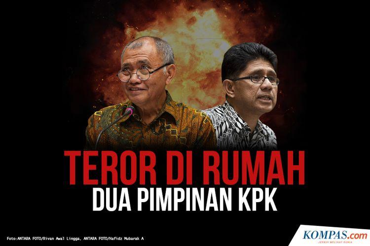 Teror Di Rumah Dua Pimpinan KPK
