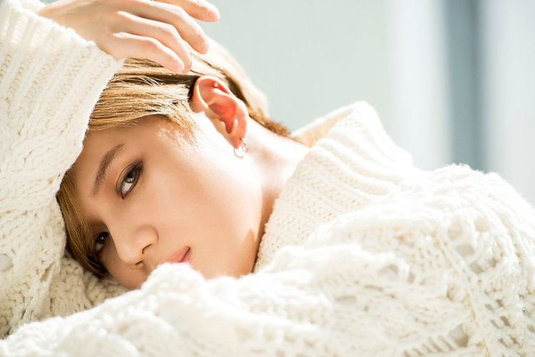 Salah satu member boyband K-Pop SHINee, Taemin
