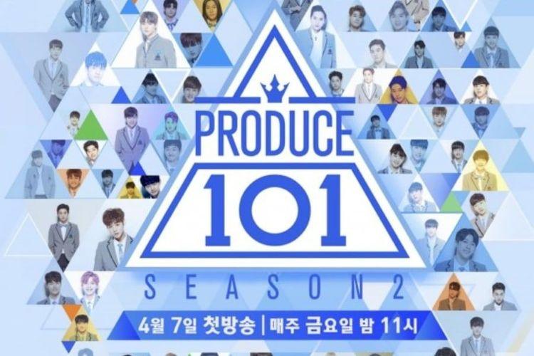 Salah satu acara survival Korea Selatan yang ditayangkan oleh saluran Mnet, Produce 101 Season 2.