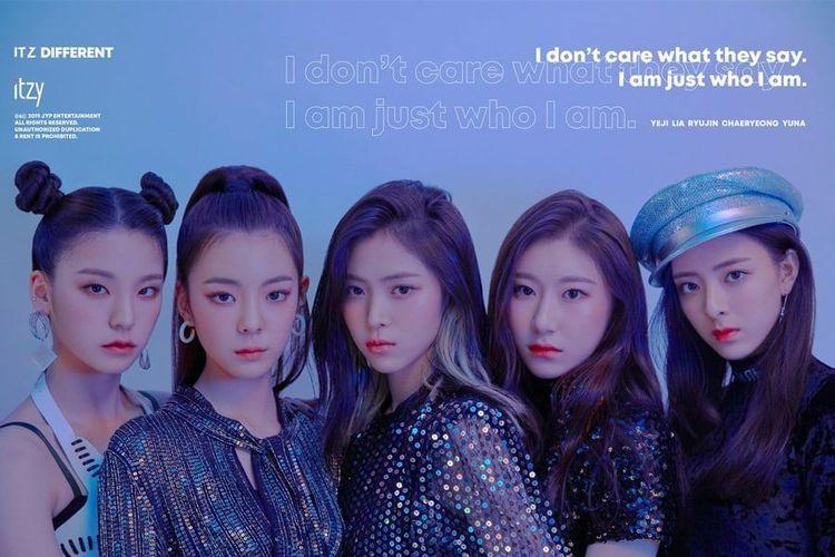 Girlband rookie bentukan JYP Entertainment, ITZY.