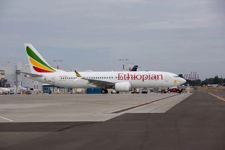 Boeing 737 MAX 8 Ethiopian Airlines.