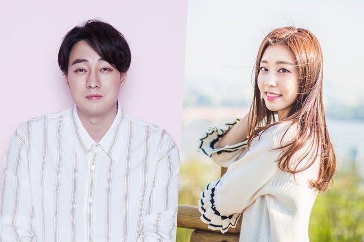 Aktor asal Korea Selatan So Ji Sub dan kekasihnya Jo Eun Jung