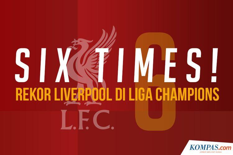 Six Times! Rekor Liverpool Di Liga Champions