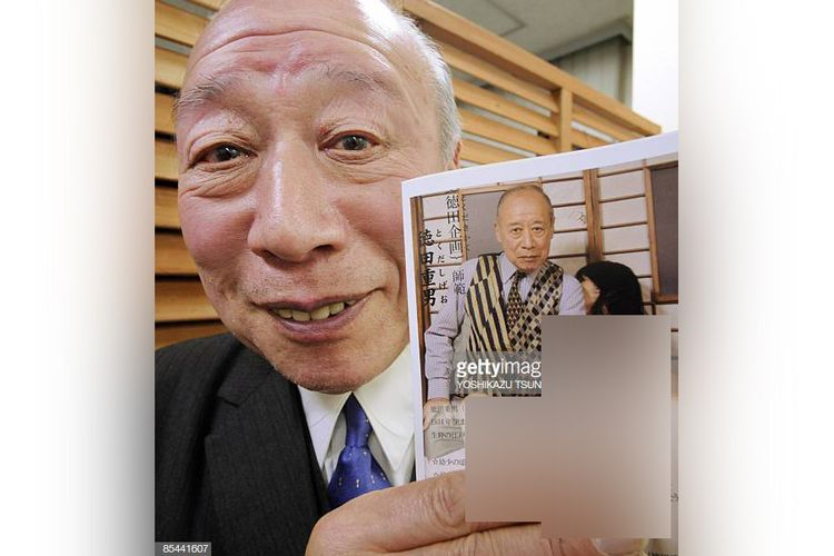 Foto asli Shigeo Tokuda yang dibuat konten hoaks kecurangan KPU