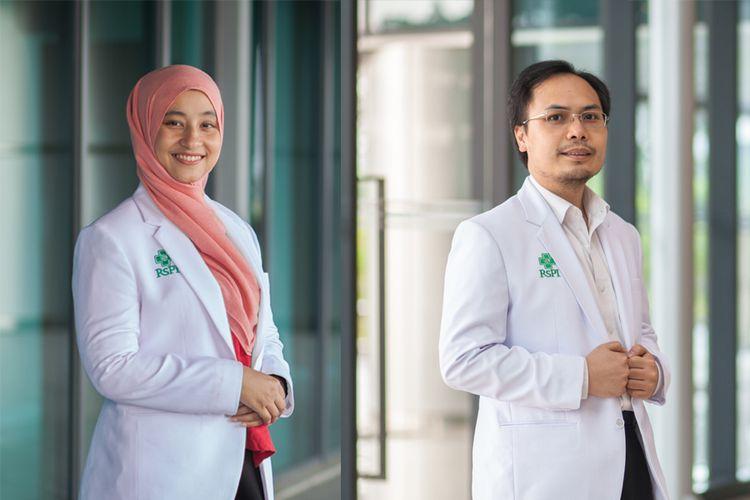 dr. Radhiyatam Mardhiyah, Sp. PD dan dr. Simon Salim, MARS, Sp. PD-KKV
