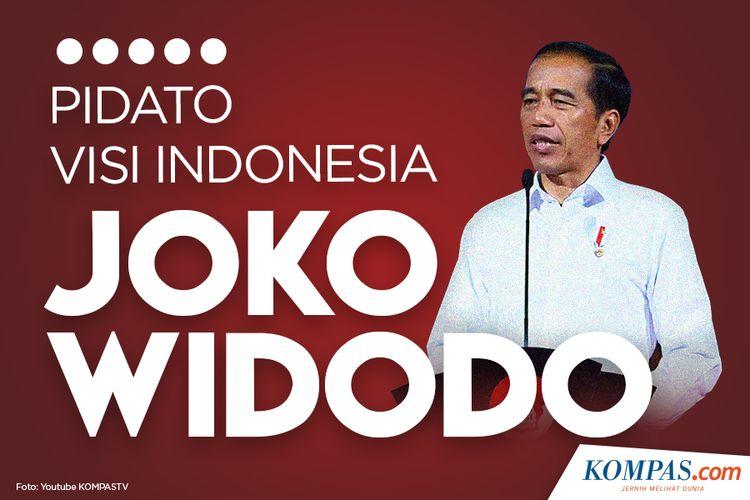 Pidato Visi Indonesia Joko WIdodo