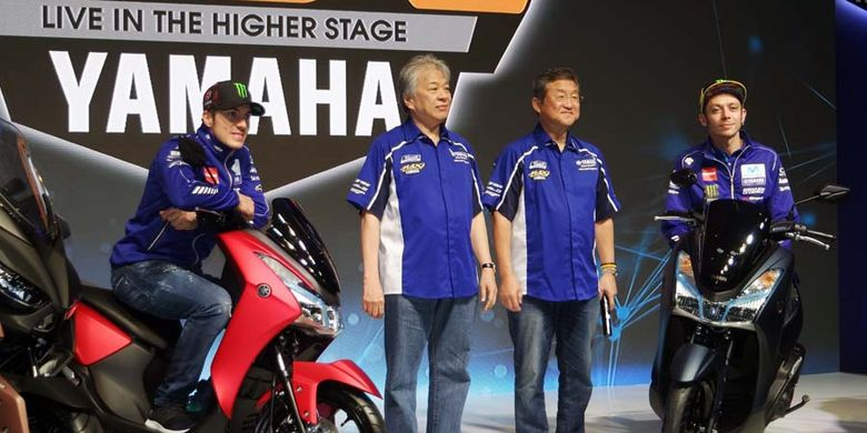 Ini Dia Anggota keluarga skutik Maxi Yamaha, Lexi 125