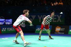 Kevin/Marcus Bertemu Duo Mads di Semifinal All England
