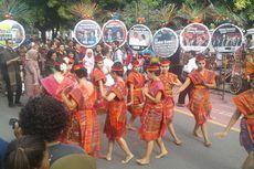Komunitas Batak Solo Tampilkan Tarian Tortor Mengayubagyo Ngunduh Mantu Putri Presiden