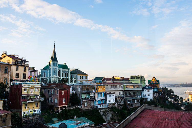 Valparaiso, Cile, Amerika Selatan