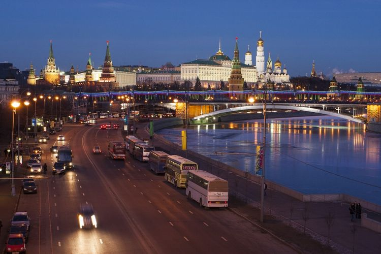 Kota Moskwa Rusia