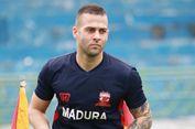 Aleksandar Rakic Tak Dibebani Target oleh Madura United