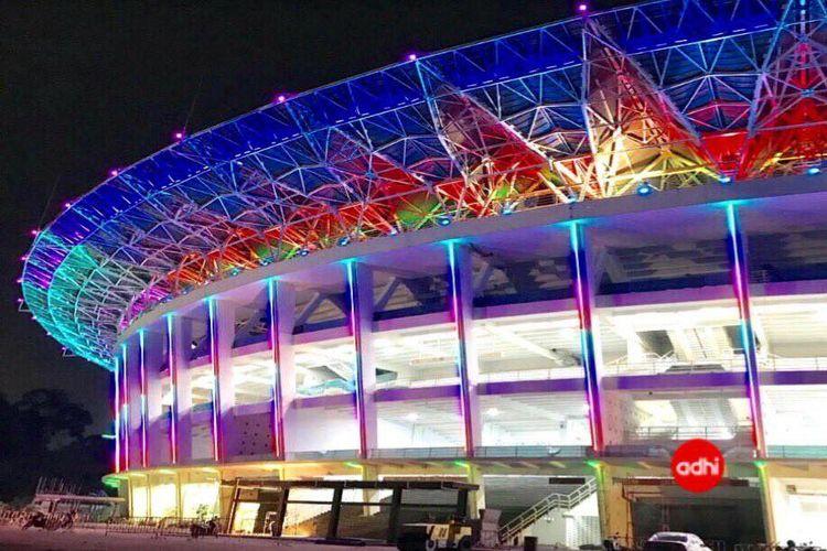 Tampak luar Stadion Utama GBK