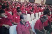 Megawati Pun Disambut Salam 3 Jari di Mataram