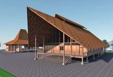 Wings Corporation Bangun Sekolah dengan Gaya Arsitektur Sumba