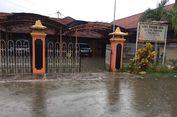 Kantor KPU Pamekasan Terendam Banjir, Kotak Suara Aman