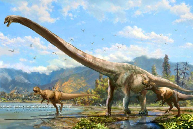 Dinosaurus Qijianglong guokr