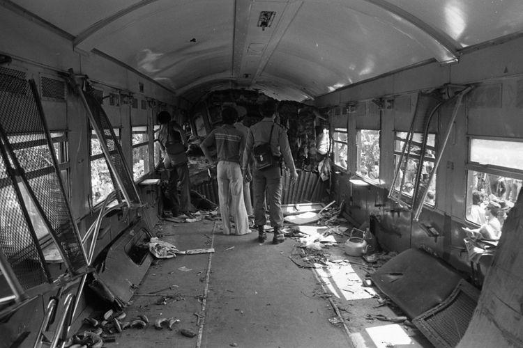 Kondisi gerbong kereta api