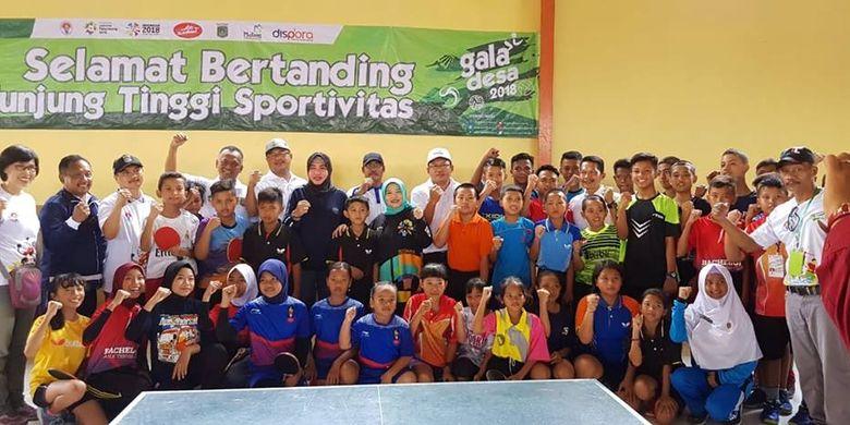 Rangkaian Gala Desa 2018 di Kabupaten Malang resmi dibuka oleh Sekretaris Deputi III Kemenpora, Suryati, di Turen, Kabupaten Malang, Sabtu (24/11).
