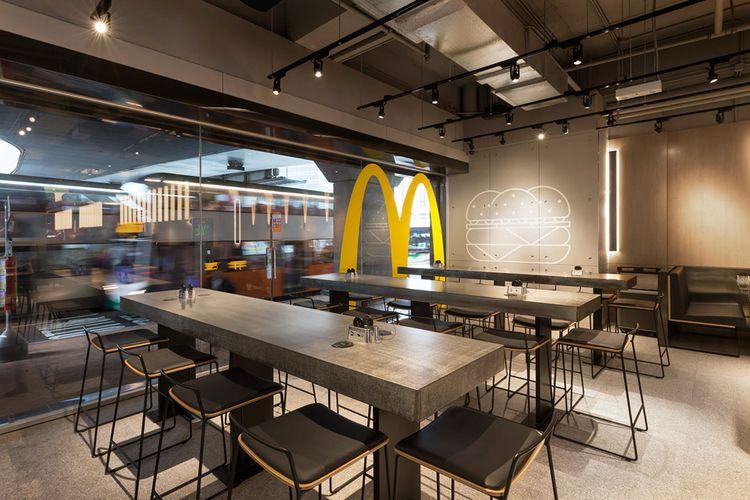 Gerai McDonalds Hong Kong